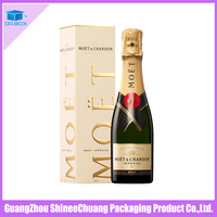Custom Made Luxury Cardboard Paper wine glass packaging boxes