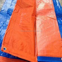 PE poly waterproof camping tarps