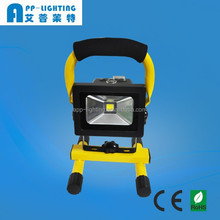 portable outdoor 10w working light rechargeable led work light
