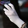 NMSAFETY 13 gauge White PU hand gloves pu work gloves