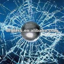Bullet proof laminated glass