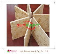 Linyi Suneast wooden panels osb prices,insulated osb panels factory price