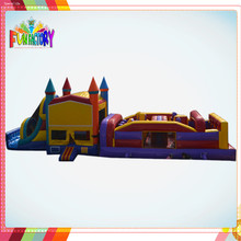 Good sale inflatable obstacle course , inflatable bounce house , inflatable water slide