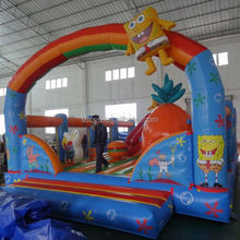 LZ-A2319 inflatable Bouncer large water slide