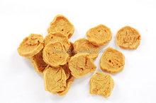 Dried bulk dog food chicken chips dog treats