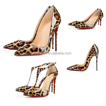 Manufacturer 2015 the new women fashion shoes sexy leopard designer shoes from china brand shoes dropship