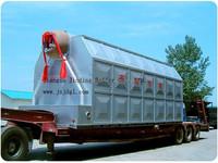Gas, oil, coal, wood,biomass fired 0.5~40 TPH Steam Boiler Horizontal Type