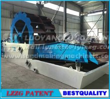 150t/h sand washing and dewatering machine for industrial sand washer plant