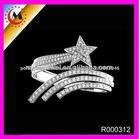 Venda quente 925 anéis de prata esterlina, prata anéis da forma para as mulheres R000312