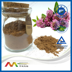 NSF-GMP Supplier 8~60% Isoflavones Red Clover Extract Powder
