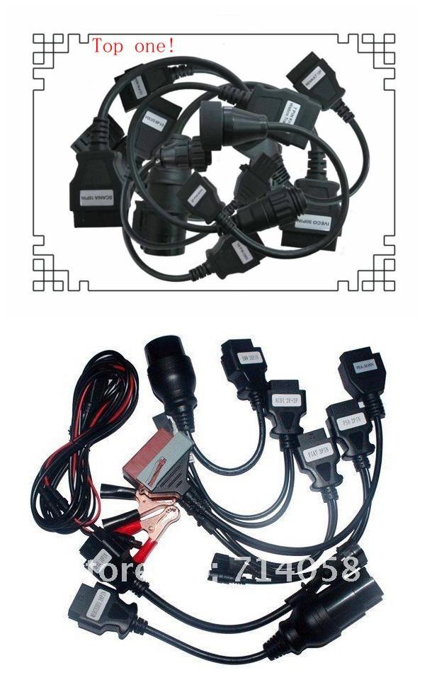 Диагностические кабели и разъемы для авто и мото V-DIAG TCS & ds150e 8 + 8 ds150 DHL/Fedex