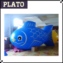 giant inflatable advertising fish, customized inflatable fish model, inflatable model