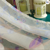 100% polyester printing blackout fabric for window curtain, print sheer curtain, curtain screen China supplier