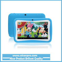 Latest 7inch Kids Tablet PC Educational Apps RK3126 Quad Core 8G ROM Dual Camera WiFi PAD for Children