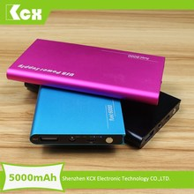 Hot Travel Partner !!! 5000mah emergency portable mobile phone charger for gionee mobile phone