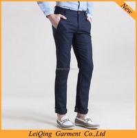 European style men's leisure chino pants latest style men pants whlosale