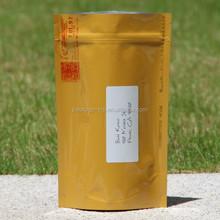 aluminum foil pouch /tea powder pouch with zip/aluminum foil ziplock bag