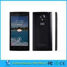 "Original THL T6S Cell Phones MTK6582M Quad Core Android 4.4 Smartphone 5.0"" IPS 1GB RAM 8GB ROM GPS OTA 5.0MP Mobile Phone"