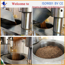 Qi'e 6YY small hydraulic cold press oil machine for sesame, walnut