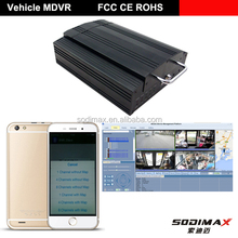 Nice Price Factory D1 WI FI and GPS 3G Mobile DVR for School Bus with Auto Record Function
