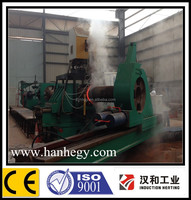 Intermediate frequency induction heating tube pipe bending machine