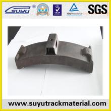 brake block railway equipments made in china