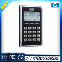 LCD TCP/IP Network Attendance Rfid Access Control system