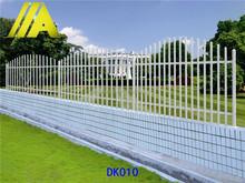 DK010 ornamental custom wrought iron fence designs for garden