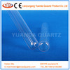 Heat resistant Quartz glass tube, crystal quartz tube