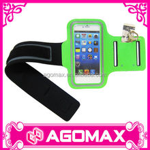 Small MOQ functional trendy reflective sport armband for iphone 5