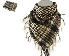 Army Military Tactical Keffiyeh Shemagh Arab Scarf With Stock