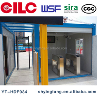 CILC Container home guard security guard room,Prefab house reception center