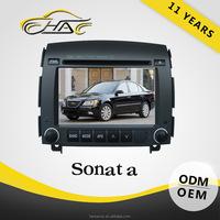HANOSVOR Factory Directly Sale 2 Din Touch Screen Car Radio for Hyundai SONATA
