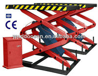 In-ground scissor lift,hydraulic scissor lifts WSG3200 with CE