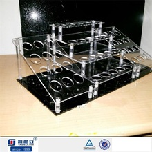 Lipstick Display !!Luxury design acrylic cosmetic/makeup display for sale, factory price acrylic lipstick display organizer