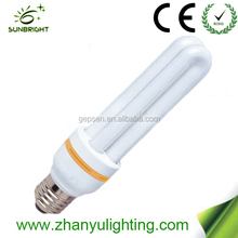 2015 Hot sale 2u energy saving bulb lamp CFL T4 made in China