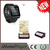 Wireless Call Pager For Restaurant With Wrist Watch Pager
