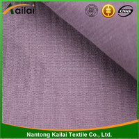 100% cotton fabric Solid dyed double cloth fabric garment fabric