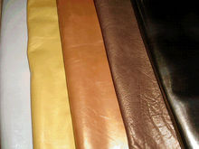 finished leather good quality from India