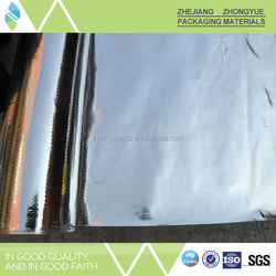 Hot sell double side coated aluminum foil pe woven fabric