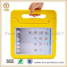 Anti-drop EVA rubber case for ipad, for ipad custom rubber case