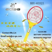 BBY-6332 Beautiful design mosquito bat/insect racket/insect killer with CE ROHS
