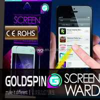 GOLDSPIN Hot Selling Anti-Glare Screen Protector for iphone 5/5s, screen guard
