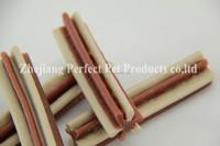 kangaroo meat(two-tone straight hexagonal natural dog chewing bone)