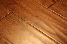 oak engineered hardwood flooring in gunstock stain