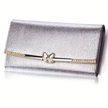 butterfly silver cute wallet