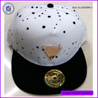 Good Quality Custom Embroidery Blank Basketball Two Tone Snapback Hat