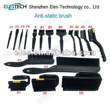 ESD brush for PCB clear