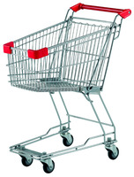 CN Munufacturer wholesales 45L Metal shopping cart