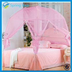 Strong Fiber Frame Tent Mosquito net with Zipper Openings